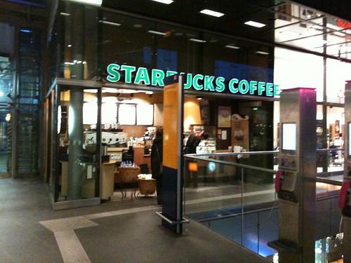 Starbucks Hauptbahnhof