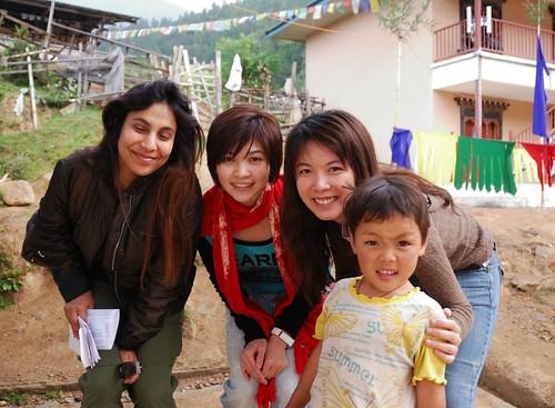 malaysian, chinese & bhutanese