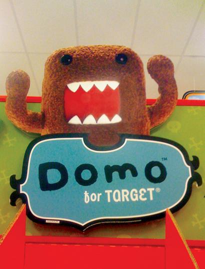 Domo Target Sign
