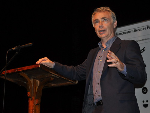 Eoin Colfer at the Contact Theatre