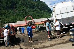 Tsunami Disaster in American Samoa Sept. 2009 (71) (Herb In Hawaii) Tags: ocean park family homes people rescue streets building bus beach water car trash truck island boat town store earthquake ruins downtown waves ship tsunami help tragedy disaster damage samoa wreck americansamoa samoans pagopago southpacificocean