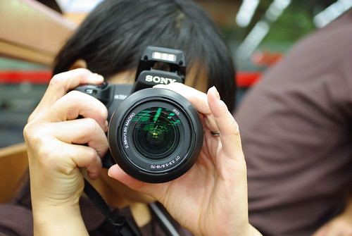 photographed photographer