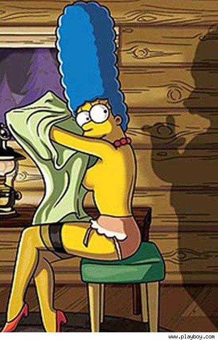 Marge Simpson Se Desnuda Para Playboy Tierra De Cin Fagos