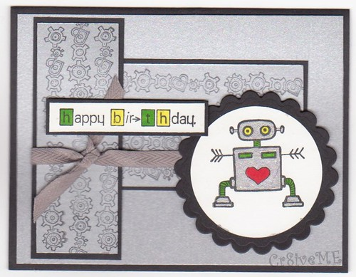 Happy Birthday Robot