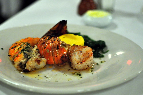 LOBSTER AND SCALLOPS