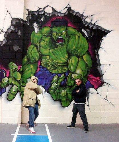 just to get an idea of the size of the beast.</p> <p>Rmer & Bboy Slammo