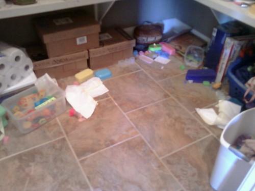Pantry floor