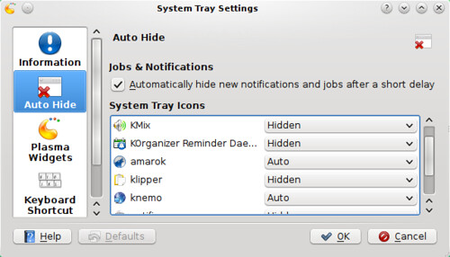 Auto-hide System Tray Apps with more control