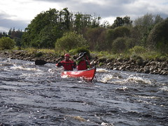 Canoeing in the Scottish highlands with fullonadventure