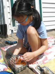 Olivia Making Nesting Container