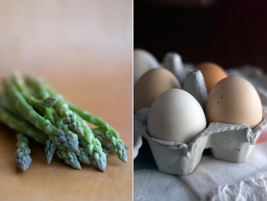 Espargos e ovos // Asparagus & eggs