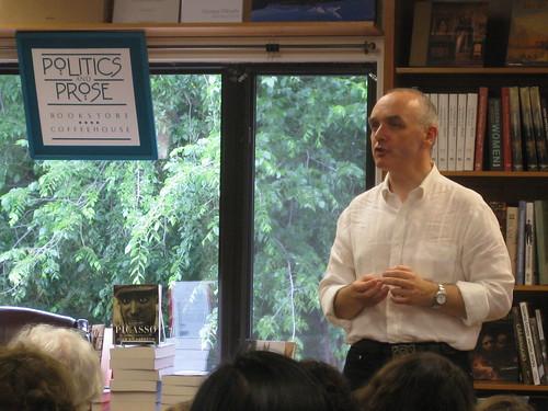 Michael Scott at Politics and Prose