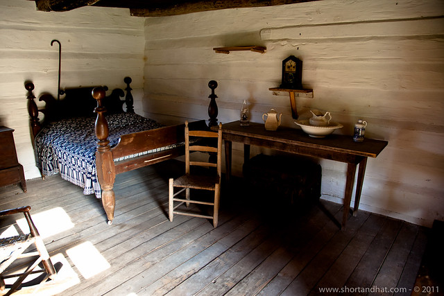 The Slaves' Cabin at the Hermitage