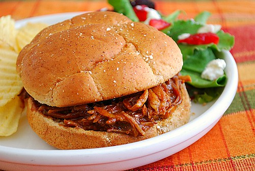 Instant Pot: Root Beer Pulled Pork Sandwiches