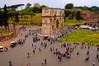 Arch of Constantine Tilt Shift, Rome