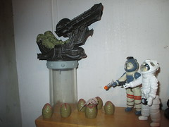 Alien Space Jockey and Ripley 2138 (Brechtbug) Tags: alien space jockey ripley aliens scifi science fiction tv television show creature monster action figure toy toys galaxy universe funko prometheus engineer figures series 1 ridley scott film movie xenomorphs like 2017 reaction original super7 retro active kenner type kane designed canceled for 1979 face hugger chest burster xenomorph facehugger chestburster helmet minimates mini mates