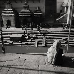 Cremation on the Bagmati River, Pashupatinath (chinese johnny) Tags: himalayan ambient reallifenotposed asian nepal nepali streetphotography documentaryphotography documentary vscocam vsco instagram iphone iphoneonly iphone5c square squareformat color kathmandu kathmanduvalley pashupatinath bagmati