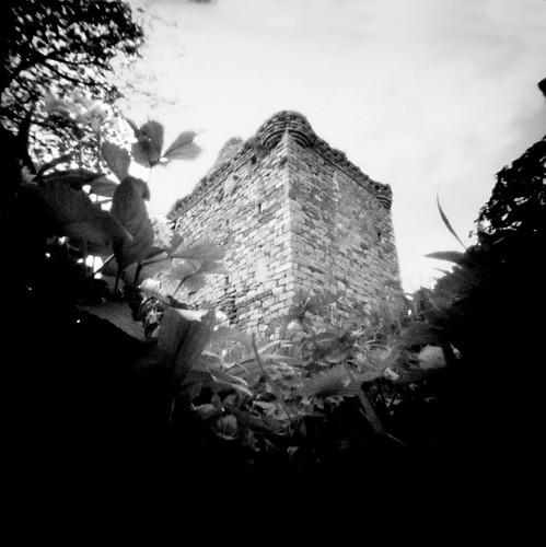 Fairlie castle pinhole image