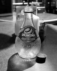 orangina (pirate pj) Tags: bottle drink juice empty translucent orangina