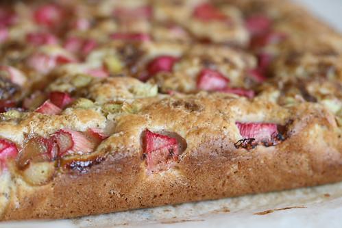 Rhubarb cake / Rabarbrikook