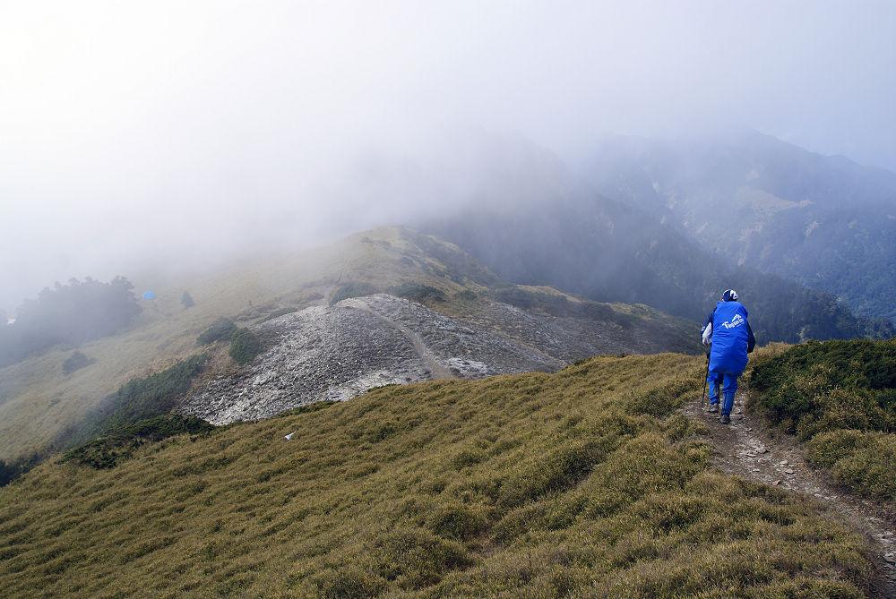 奇萊Day2-30 雲霧飄渺