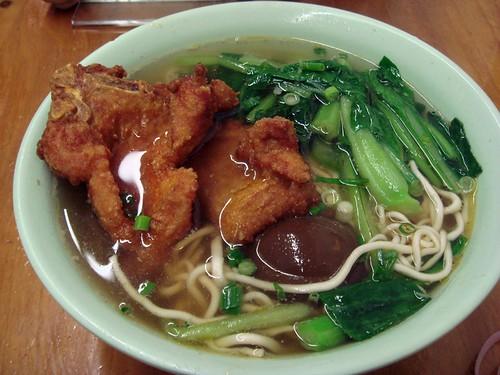 Pork chop noodle@Noodle Kingdon