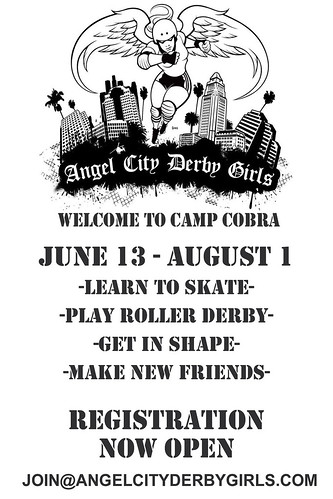 Camp Cobra flyer
