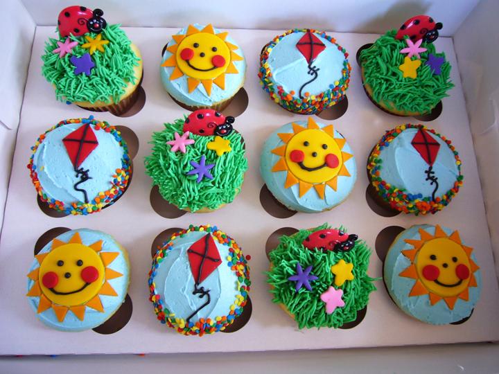 Kids Summer Cakes