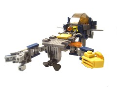 Luna - Submersible (NewRight) Tags: sea sun moon search lego craft submarine scifi exploration discovery base mech robotic unmanned