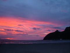 tramonto poetto (lauraskizzo) Tags: mare poetto selladeldiavolo sardegne palmette primafermata