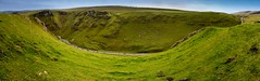 Winnats Pass - Panorama | Peak District (Aditya Bhelke) Tags: uk autostitch panorama vertical geotagged highresolution nikon peakdistrict 1855 2009 winnatspass noborder d40 nowatermark perfectpanoramas lr2 geo:lat=53341482 geo:lon=180047 lr2ndgrad