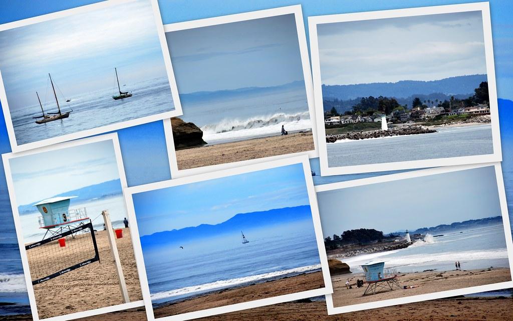 Shots of Santa Cruz, CA