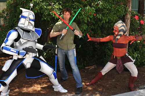 star wars ahsoka and rex. Disney Star Wars Weekend 2