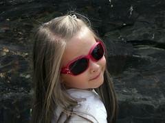 Madison Over The Shoulder (Modernjiddu) Tags: people sun kids glasses back over drop shoulder