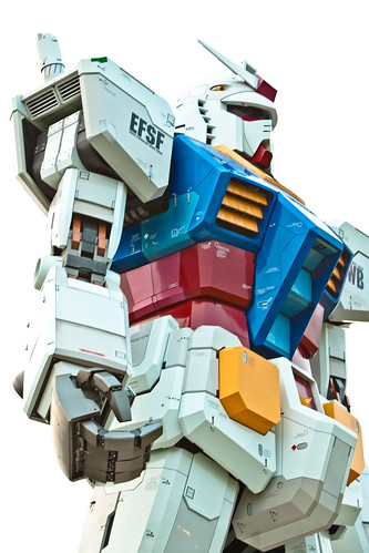 Gundam tamaño real Tokio 3