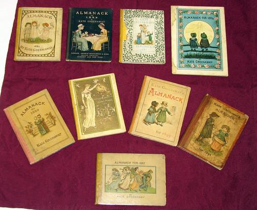 Kate Greenaway almanacs