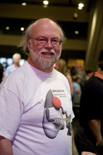 James Gosling, Before General Session on June 2, JavaOne 2009 San Francisco