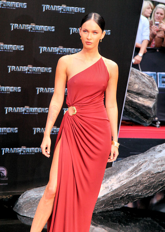 Transformers 2 Berlin Megan Fox gala