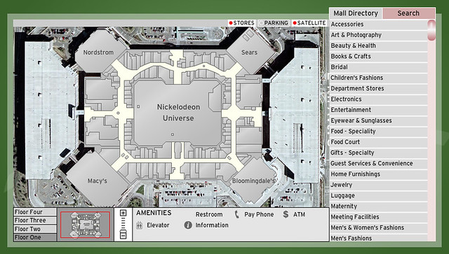 mall of america map