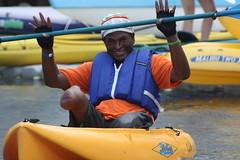 Adaptive Kayaking (AndreaJehnKennedy) Tags: travel sports kayak wheelchair recreation disability adaptive