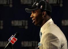 2009 NBA Draft - Hasheem Thabeet (noamgalai) Tags: nyc ny newyork basketball photo picture photograph msg 2009 draft   pressconference  noamg toppicks nbatv noamgalai   hasheemthabeet 2009nbadraft sitesports