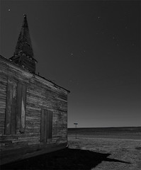 Holy Night (Noel Kerns) Tags: abandoned church night town texas ghost ceevee