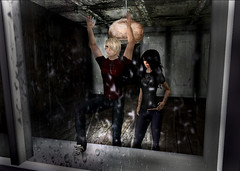 emo sad ([MaiMai]) Tags: rain photoshop dark photography sad emo sl mai secondlife cisse creamshop