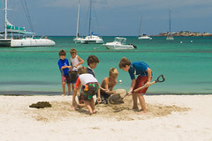Working together (Fabi Fliervoet) Tags: pictures life sea playing beach netherlands kids children fun island togetherness saintmartin photos contest stock working scenic progress stmartin together harmony tropical caribbean sailboats sandcastle operation stmaarten job understanding rational sympathetic agree antilles decisions sintmaarten netherlandsantilles saintmaarten harmonious fabifliervoet