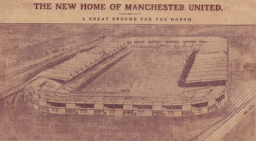 Artist's impression of Old Trafford, C1909