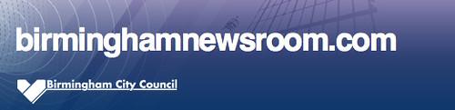 Birmingham News Room header