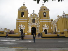 The Plaza de Armas in Trujillo