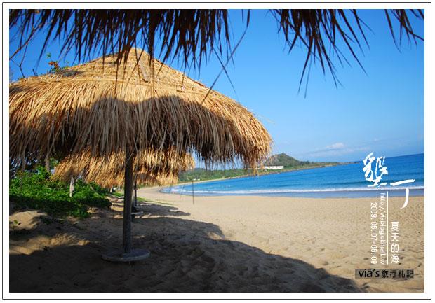 【墾丁景點】來渡假吧~墾丁夏都飯店海灘實景7