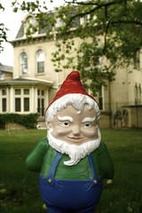 david the gnome (aka amelie rip off) (katiewhitney) Tags: toronto ontario gnome amelie shameless cheesy cutesy