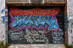 Dzyer (funkandjazz) Tags: sanfrancisco california graffiti euro cab dzyer armer